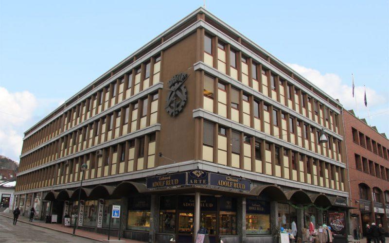 Kontorlokalene i Drammen